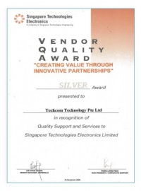 Vendor Quality Award- innovative partnership